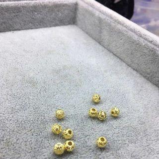 Hạt chảm chữ x bạc si vàng - MSP 519 giá sỉ