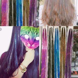 5 set tóc giả móc lai dài 12m 250 sợi giá sỉ