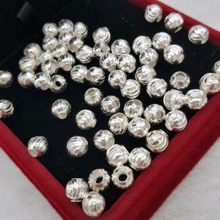 Combo 10 Hạt bi xoắn bạc 925 - MSP 632 giá sỉ