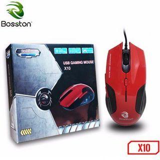 Chuột game có dây Bosston X10 giá sỉ