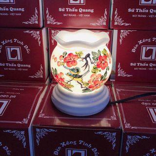 Đèn xông tinh dầu sứ Thấu Quang – Bát tràng giá sỉ