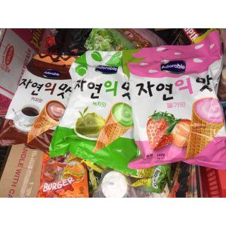 Bánh kem ốc quế Hàn Quốc giá sỉ