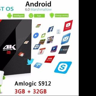 Android tivi box Android tv box H96 Pro Plus giá sỉ