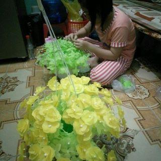 hoa giấy lụa đủ hoa tuyết giá sỉ