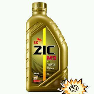 Dầu nhớt xe máy Zic M9 4T 10W40 giá sỉ