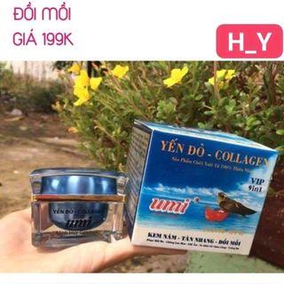 Kem Trị Nám - Tàn Nhang - Đồi Mồi Yến đỏ Collagen UMI 25g giá sỉ