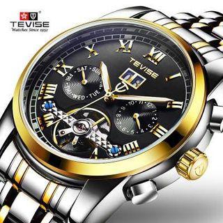 Đồng hồ cơ hãng Tevise giá sỉ