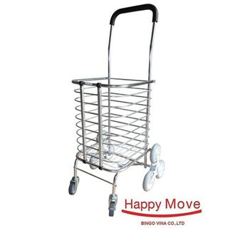 Xe Kéo Đi Chợ Leo Cầu Thang Happy Move 30kg giá sỉ