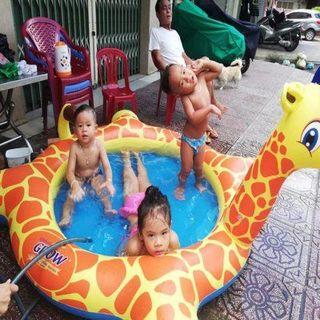 Bể bơi Hươu cao cổ cho Bé giá sỉ