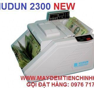 máy đếm tiền xiudun 2300c giá sỉ