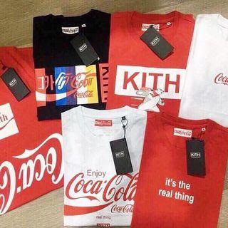 Áo thun nam Coca-cola giá sỉ