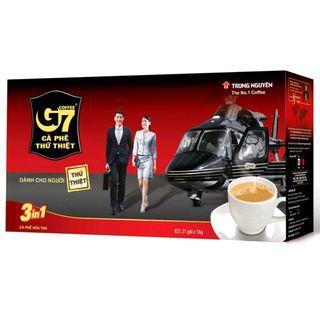 Cà phê hòa tan G7 3in1 hộp 21 gói Trung Nguyên giá sỉ
