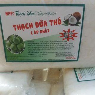 Thạch dừa thô bến tre giá sỉ