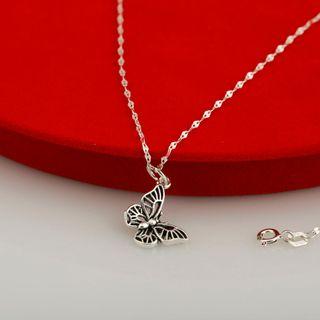 Dây chuyền charm bạc hình bướm giá sỉ