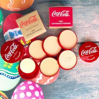 Phấn 5 tầng The Faces Coca Cola giá sỉ