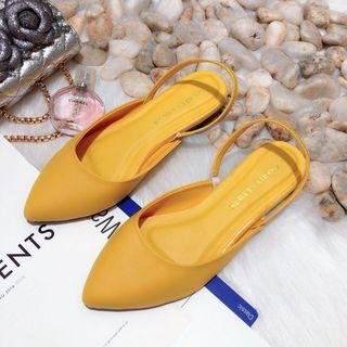 giày sục chất đẹp có quai sau giá sỉ
