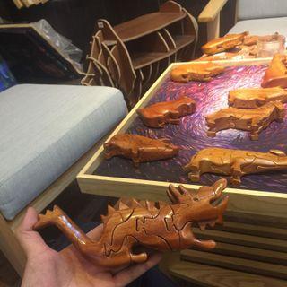 Đồ chơi thú gỗ lắp ghép giá sỉ