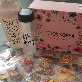 Detox trái cây sấy Hàn Quốc giá sỉ