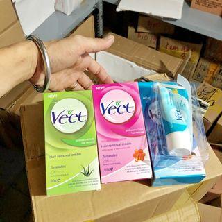 Kem tẩy lông Veet 3 màu giá sỉ