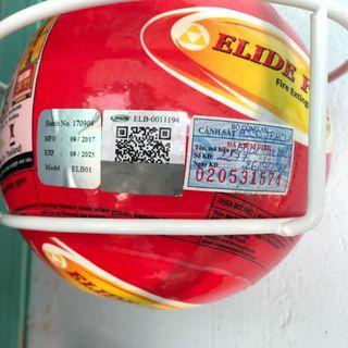 Bóng chữa cháy tự động Elide fire ball Thái Lan giá sỉ