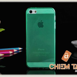 Ốp silicone trong suốt iPhone 5 / iPhone 5S giá sỉ