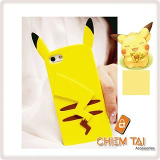 Ốp silicone Pikachu iPhone 5 / iPhone 5S giá sỉ
