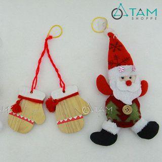 Combo 3 món phụ kiện trang trí Noel XMAS-07 giá sỉ