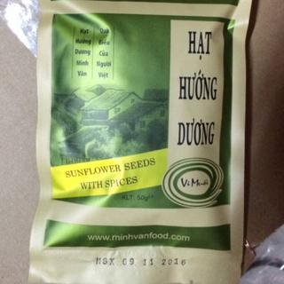 Sỉ 1 thùng 160 gói hướng dương Minh Văn vị muối 50gram giá sỉ