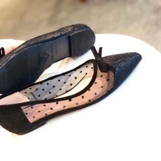 giày búp bê nữ lưới mũi nhọn giá sỉ