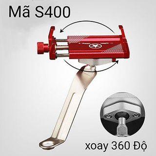 Kẹp xe máy inox S400 giá sỉ