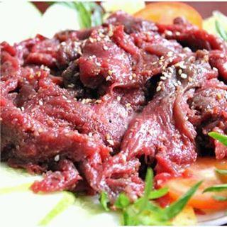 thịt naiđà điểu ướp sẵn kèm nước chấm bobo giá sỉ