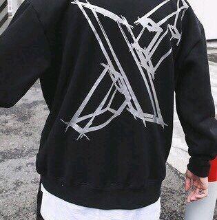 Áo hoodie chữ X giá sỉ