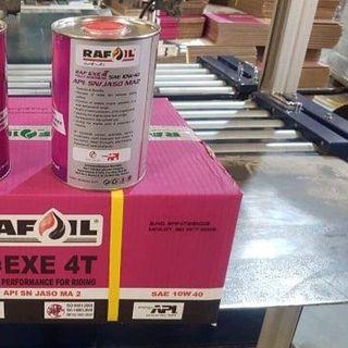 Nhớt xe máy Rafoil Racing 4T EXE 1 Lít giá sỉ