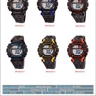 Đồng hồ điện tử Mingrui To hộp sắt nhiều mẫu giá sỉ