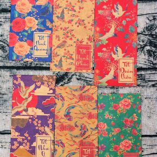 Bao lì xì tết 2019 style Hongkong giá sỉ