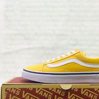 giày van sneaker vàng nam nữ giá sỉ