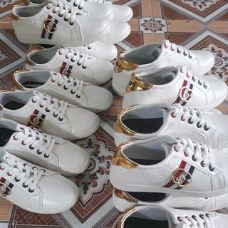 Giày thể thao nam trắng giá sỉ