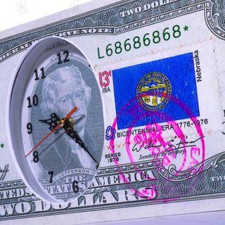 ĐỒNG HỒ TREO TƯỜNG 2 USD MAY MẮN giá sỉ