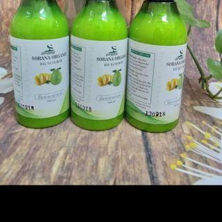 dầu xả vỏ bưởi - dầu dừa Sorana 300ml giá sỉ