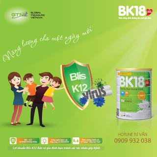 Sữa Lợi khuẩn BK18 giá sỉ