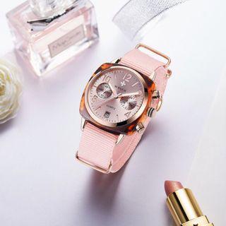 Đồng hồ nữ thời trang WWOOR 8860 mặt đá nhân tạo giá sỉ