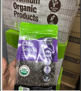 Hạt Chia Tím Absolute Organic 400g giá sỉ