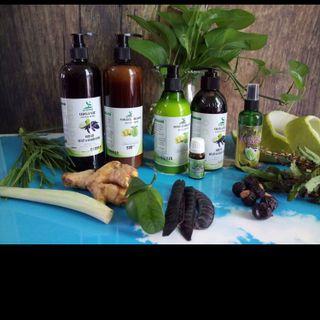 Dầu xả vỏ bưởi - dầu dừa Sorana 500ml giá sỉ