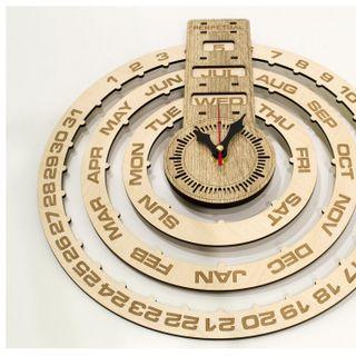 Đồng hồ treo tường vạn niên trang trí jonnydecor giá sỉ