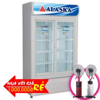 TỦ MÁT CỬA LÙA ALASKA 800 LÍT SL-8CS ĐỒNG R134A giá sỉ