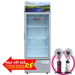 TỦ MÁT SANAKY 290 LÍT VH-358K NHÔM R600A giá sỉ