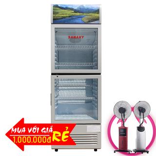 TỦ MÁT SANAKY 290 LÍT VH-359W ĐỒNG R600A giá sỉ