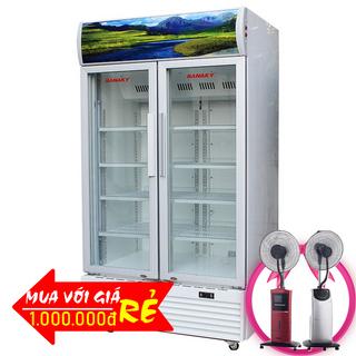 TỦ MÁT 2 CÁNH SANAKY 1000 LÍT VH-1009HP ĐỒNG R134A giá sỉ