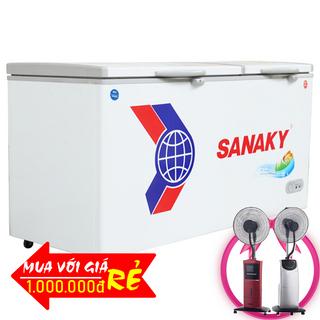 TỦ ĐÔNG MÁT SANAKY 400 LÍT VH-5699W1 ĐỒNG R600A giá sỉ