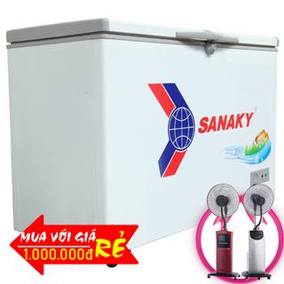 TỦ ĐÔNG SANAKY 240 LÍT VH-2899A1 ĐỒNG R600A giá sỉ